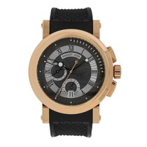 Breguet pre-owned Automatic 42mm Black Sapphire Glass 10 ATM