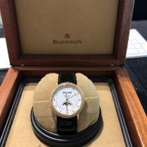 Blancpain Yellow gold White new Villeret Moonphase