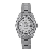 Rolex Lady-Datejust Zeljezo 26mm Siv Bez brojeva