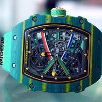 Richard Mille Carbon 38.7mm Automatic RM67-02 CA-FQ pre-owned