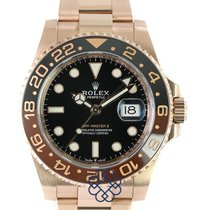 Rolex Rose gold Automatic pre-owned GMT-Master II