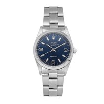 Rolex Air King Precision Steel 34mm Blue Arabic numerals United States of America, Pennsylvania, Bala Cynwyd