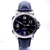 Ulysse Nardin San Marco Big Date pre-owned 40mm Black Leather