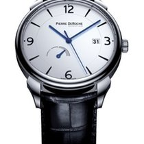 Pierre DeRoche new Automatic Display Back Small Seconds Power Reserve Display 40mm Steel Sapphire Glass