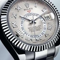 Rolex 326939 White gold Sky-Dweller 42mm pre-owned United States of America, New York, Greenvale