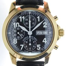George J von Burg Mans Automatic Wristwatch Chronograph