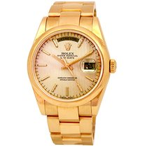 Rolex 36mm Day-date  18k Yellow Gold #118208 - P series  - 2001