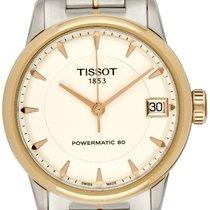 Tissot Luxury Automatic Acero 33mm Blanco Sin cifras