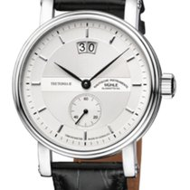 Mühle Glashütte Teutonia II Großdatum Chronometer Silver...