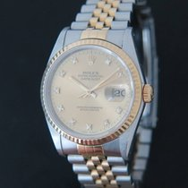 Rolex Datejust Gold/Steel Diamonds 16233