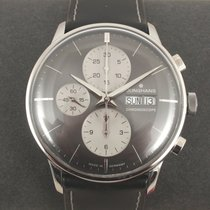 Junghans Chronograph 40mm Automatic pre-owned Grey