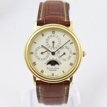 Blancpain Yellow gold Automatic White Roman numerals 34mm pre-owned