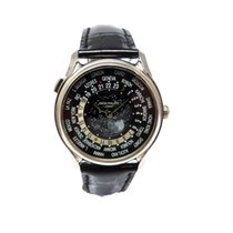 Patek Philippe World Time 5575G-001 Weißgold limitiert Mondphase
