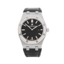 Audemars Piguet Royal Oak Lady Steel 33mm Black United Kingdom, Bishop's Stortford