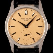 Patek Philippe Calatrava pre-owned 30mm White gold