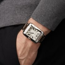 Cartier Tank Anglaise 36mm Acero y oro