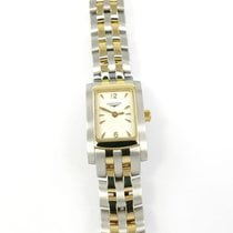 Longines DolceVita Gold/Steel 16mm White United Kingdom, Plymouth