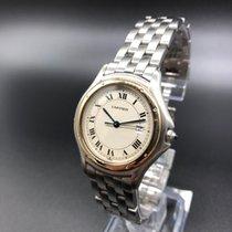 Cartier Cougar Steel 33mm White Roman numerals United Kingdom, Glasgow