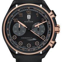 Edox Steel 43mm Chronograph 08005 37NRCN NNR new