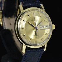 Longines Ultronic Yellow gold 35mm Gold No numerals