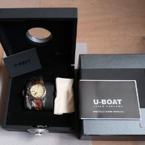 U-Boat neu Automatik Sichtboden Kleine Sekunde Verschraubte Krone 45mm Stahl Saphirglas