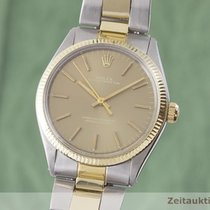 Rolex Oyster Perpetual 34 Or/Acier 34mm Or