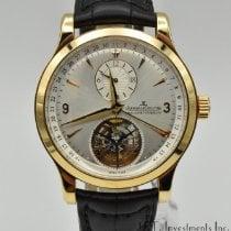Jaeger-LeCoultre Master Tourbillon Rose gold 42mm Silver No numerals United States of America, Texas, Houston