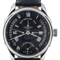Longines Master Collection Steel 44mm Black United States of America, Illinois, BUFFALO GROVE