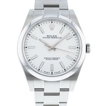 Rolex Oyster Perpetual 39 Steel 39mm White United States of America, Georgia, Atlanta