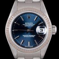 Rolex Lady-Datejust Zeljezo 26mm Plav-modar