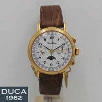Lucien Rochat Yellow gold 37mm Manual winding new