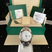 Rolex Datejust II Gold/Steel 41mm White