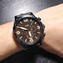 Fossil Staal 50mm Quartz JR1487 tweedehands