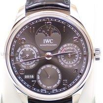 IWC Portuguese Perpetual Calendar Белое золото 44.2mm