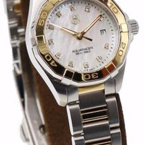 TAG Heuer Two-Tone Ladies Aquaracer WAY1451.BD0922 - MOP &...