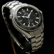 Omega Seamaster Planet Ocean  Liquidmetal Limited Edition NOS