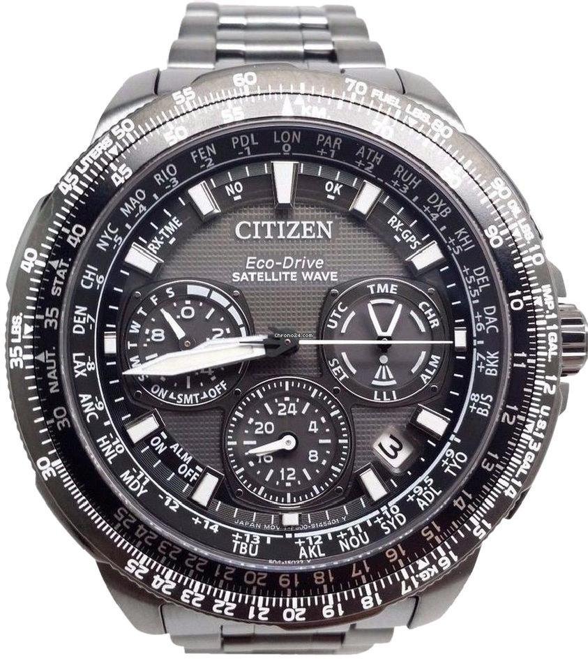 citizen promaster navihawk gps chronograph perpetual men 39 s watch f r kaufen von einem. Black Bedroom Furniture Sets. Home Design Ideas
