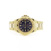 Rolex Yacht-Master 168628 35mm Watch Blue Dial