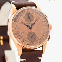 Chronographe Suisse Cie Rose gold 38mm Manual winding pre-owned