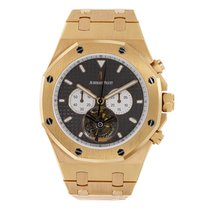 Audemars Piguet Royal Oak Tourbillon Rose gold 44mm Black