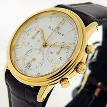 Blancpain Villeret Chronograph  18k Yellow Gold Priceless