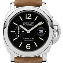 Panerai Luminor Marina Automatic Stål 44mm Svart