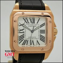 Cartier Santos 100XL Rose Gold 2012