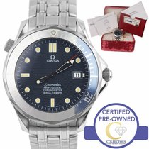 Omega Seamaster Diver 300 M Steel 41mm Blue United States of America, New York, Lynbrook