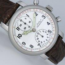 Dubey & Schaldenbrand Pilot Chronograph Dual von Hand graviert