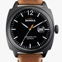 Shinola 46mm Quartz 2014 pre-owned