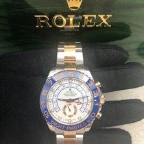 Rolex Yacht-Master II Acero y oro 44mm Blanco Sin cifras España, Arona