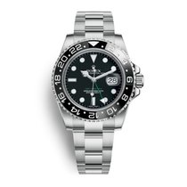 Rolex Oyster Perpetual GMT-Master II Steel Black Dial 40mm