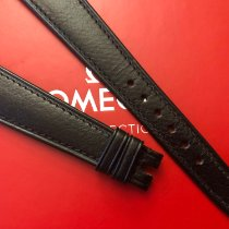 Omega 18x12mm Original Black Calfskin strap - 100% genuine Neu Schweiz, Le Mont-sur-Lausanne