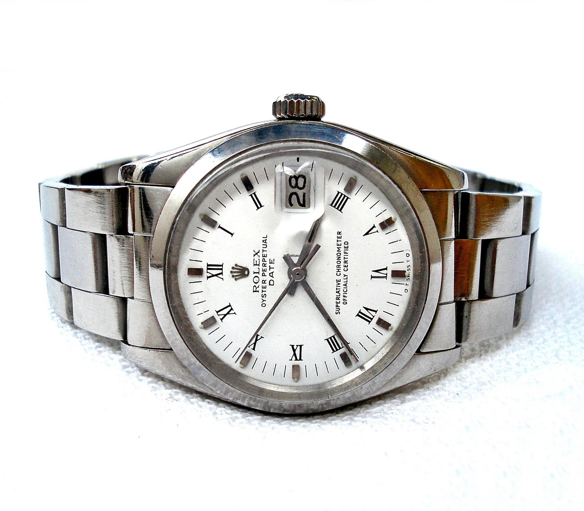 64c2ad4118a Rolex Oyster Perpetual Date Automatic Ref. 1500 Steel 35mm 1978c ...